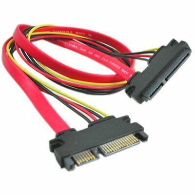 SATA Cables 22-pin (7+15) Sata Male To Female Data And Power Combo Extension M/f