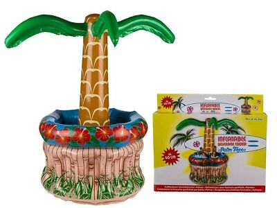 Inflatable Beverage Holder - Cooler Palm Tree Pool Drinks Holiday