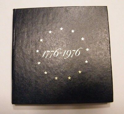 1776-1976 Us Proof Silver 3 Coin Set No Coins In Us Mint Packaging W/ Insert