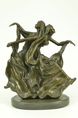Bronze Sculpture Statue Signed Rare Museum Quality Twin Dancer Aldo Vitaleh MB
