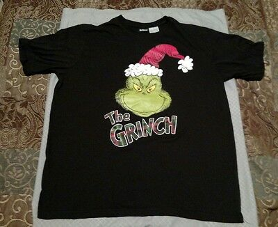 Dr Suess The Grinch Christmas Adult Large Shirt