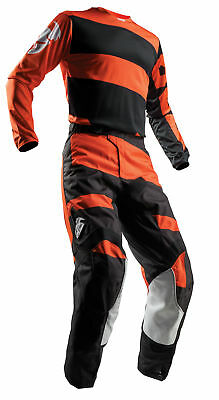THOR MX Motocross Men's 2018 PULSE LEVEL Jersey/Pants Kit (Black/Orange)