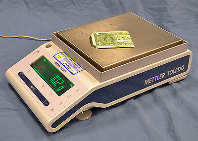 Mettler Toledo Precision Analytic MS6002S FACT New Classic Scale MF 6200g/0.01g