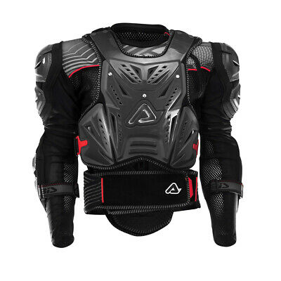 "ACERBIS Cosmo Roost Guard/Deflector w/ Jacket (Grey) SM-MD 5'5""-6'0"" 115-150lbs"