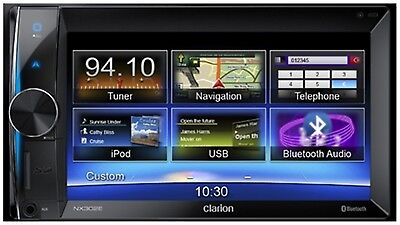 Clarion NX302E NEU 2DIN Multimedia Navigation 6,2 Zoll Touchscreen Bluetooth EQ