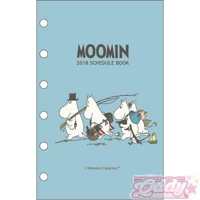 2018 Moomin LV Agenda Refills Organizer Pages
