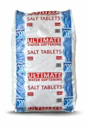 Monarch Ultimate Water Softener Salt Tablets 25kg Bag -  COLLECTION ONLY CM7 3AN