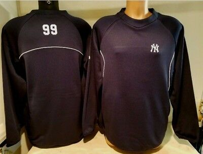 Aaron Judge New York Yankees Authentic Majestic On Field Pullover Fleece New 1992168e137