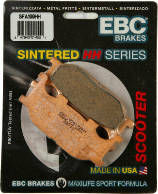 EBC SFA HH Double-H Sintered Scooter Brake Pads / One Pair (SFA199HH)