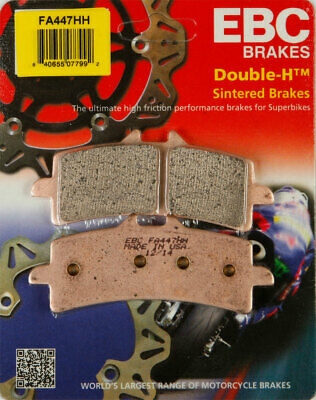 EBC Double-H HH Sintered Superbike Brake Pads / One Pair (FA447HH)