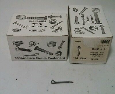 """Cotter Pins 3/32"""" x 1""""  (320)  Steel"""