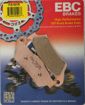 EBC R Series Long Life Sintered Brake Pads / One Pair (FA181R)