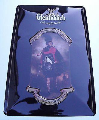 Glenfiddich- Blechschild Schotte, Scotch Whisky, Neu!!