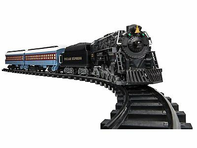 LIONEL POLAR EXPRESS TRAIN SET Remote Control Whistle Bells Headlight Ships free