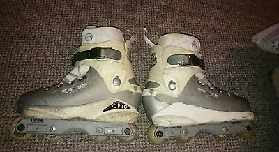 Salomon Chaz Sands wide body aggressive inline skates.Size UK 7.