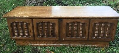 """Vintage Lane Cedar Chest with Replacement Lock 1974 4'L x 16""""h x 16""""d Hope Chest"""