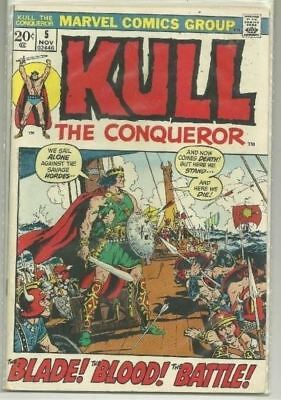 Kull The Conqueror U-PICK ONE #5 or 6 Marvel (1972) Issues PRICED PER COMIC
