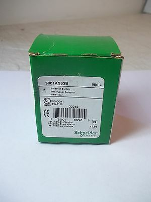 Nos Nib Schneider Electric Harmony Selector Switch 9001Ks63B Brand New