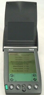 3Com Palm III 1998 Vintage Personal Organizer -Perfectly working - Free UK P&P