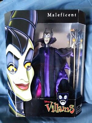 Disney Villains Maleficent Doll Barbie Sized W Stand In New Unopened Box