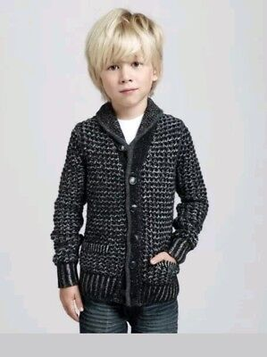 Rag & Bone New York Neiman Marcus Target Boys Sweater Small  Black Multi