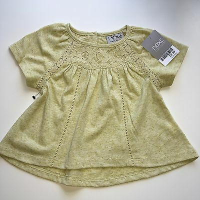 💐baby Girls Next Tunic/top, 3-6 Mths,nwt, Ideal New Baby Gift 💐