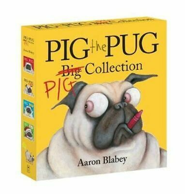 NEW Pig the Pug Big Collection By Aaron Blabey Box or Slipcased Free Shipping