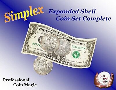 Simplex EXPANDED SHELL COIN SET - COMPLETE - (Morgan Dollar)