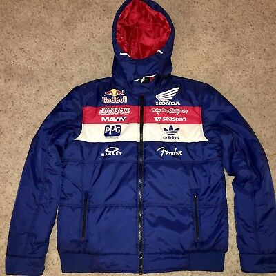 b97c8e16caf Troy Lee Designs Team Puffy Jacket- Large Athlete Only TLD Red Bull Honda  Down