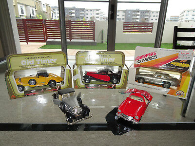 Zee Toys, Grippers Classics, MC Toy, Die Cast, Old Timer, T50, 300SL, 540K, 1:43