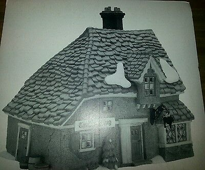 Department 56  Dickens Village Series The Chop Shop New