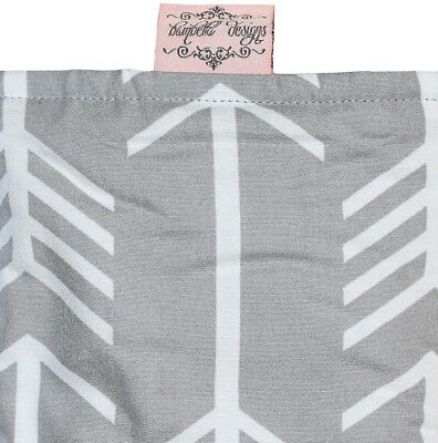 Bambella Designs Pram Footmuff- Grey Arrow