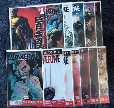 Wolverine 1 - 12, Plus Annual (NM)