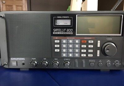 Excellent Grundig Satellit 800 Millennium AM FM Short Wave World Receiver Radio