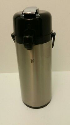 Newco Airpot 2.5 Liter, Stainless steel Level handle