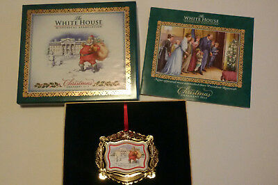 The White House Christmas Ornament  2011