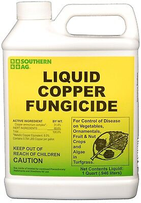 Southern Ag Liquid Copper Fungicide, 32oz - 1 Quart