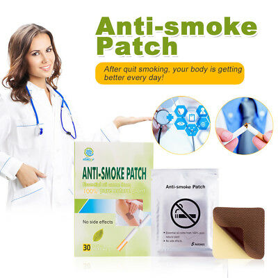 Brand ANTI SMOKE PATCH 30 Pieces/ Box Smoking Cessation Pad 100% Natural Herbal