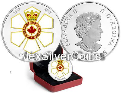 1oz Silver Canadian Honours Collection: 50th Anniversary of the Order of Canada