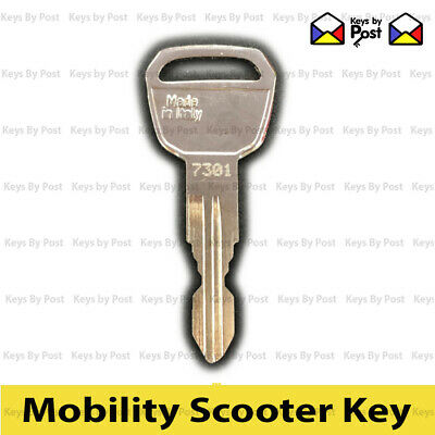 2x Key Days Strider ST1,2,3 Invacare, Lynx L3,L4,Colibri, Mobility Scooter 7301