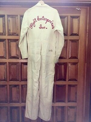1940s Vintage Workwear Coveralls From Flight Enterprises