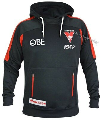 Sydney Swans 2018 AFL Pullover Squad Hoody Mens and Ladies Sizes BNWT