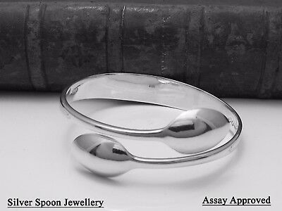 Floral Assay Approved Victorian Solid Silver Sugar Tong Bangle - 1888