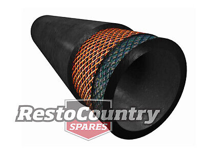 Straight Rubber Fuel Hose Petrol Diesel 35mm ID X 1000mm HIGH QUALITY Reinforced