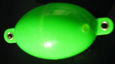 BULDO Extra Large Oval Bubble Floats LIME GREEN