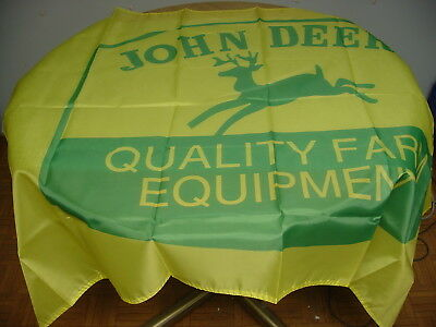 John Deere Tractor Logo Quality Farm Equipment Flag 3' X 5'