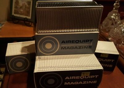 """Lot 4 Airequipt Automatic Slide Changer Magazine Empty holds 2"""" x 2"""" slide (36)"""
