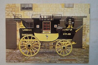 Commodore Stage Coach - Bath Carriage Museum - Collectable -Vintage Postcard