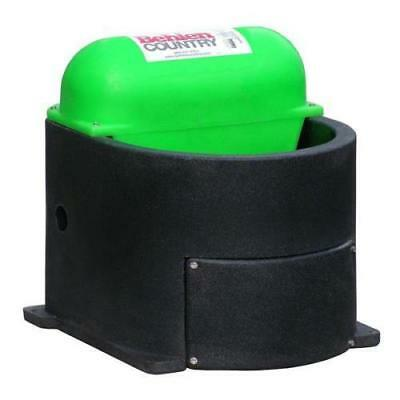 Behlen Country Horse & Companion Heated Waterer Black / Green