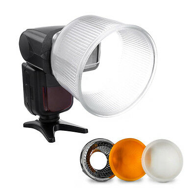 Dome Cover Fits Different Flash +Universal Cloud Lambency Flash Diffuser Tool..